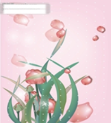 玫瑰芬芳移门图案