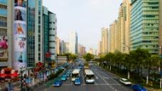上海马路图片