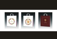 武汉亢龙太子酒店礼品袋设计图片