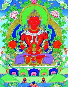 佛教唐卡图片