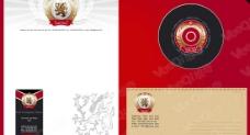 一套精美企业形象标识与卡片模板矢量素材图片