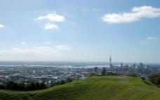 奥克兰市全景图片