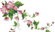 十字绣重绣图纸之花朵篇图片