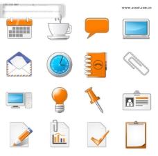 网页设计图标矢量素材