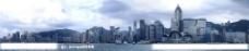 香港维多利亚港全景图图片