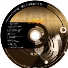 CD碟片光盘封面